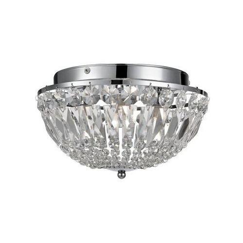 Estelle 105796 plafon kryształowy łazienkowy chrom 3x28W G9 IP44 Markslojd (7330024549401)