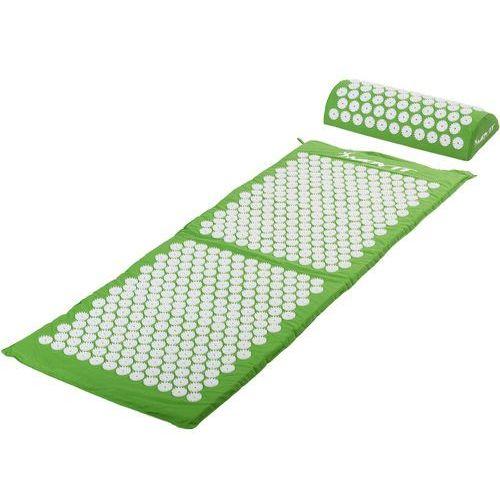 Movit ® Zielona mata zdrowotna do akupresury 130x50 cm z kolcami na ból pleców - zielony