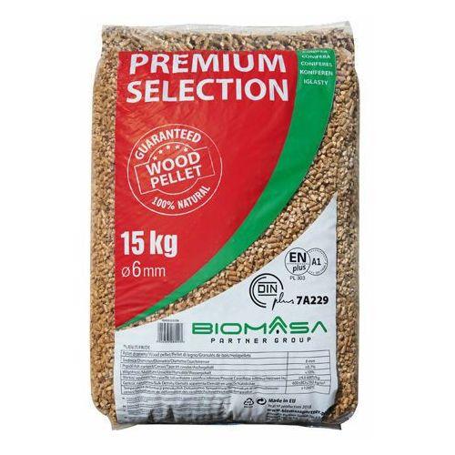 Pellet drzewny premium selection marki Biomasa partner group