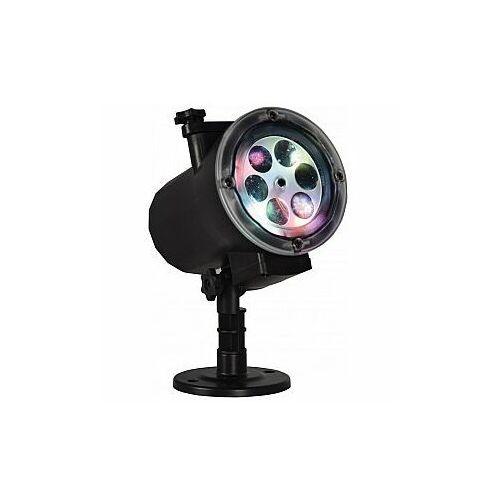 Projektor ogrodowy LED na slide IP 65 QTX GP104 Halloween, Christmas, Winter, Birthday