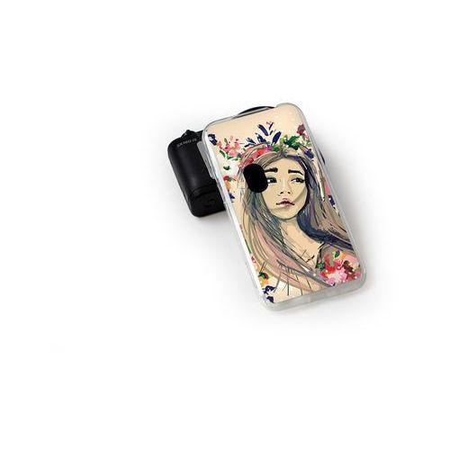Fantastic Case - Asus Zenfone Zoom - etui na telefon Fantastic Case - kolorowy wianek