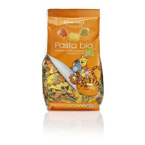 Makaron (semolinowy trójkolorowy) disney kubuś puchatek bio 300 g - dalla costa wyprodukowany przez Dalla costa (makarony dla dzieci)