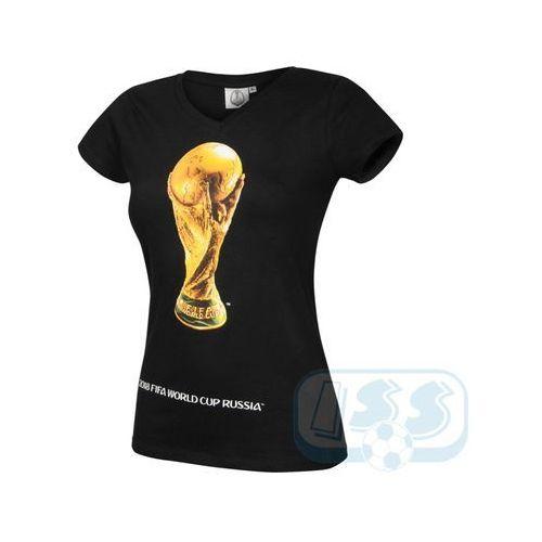 Dwcr47w: mistrzostwa świata rosja - t-shirt damski marki World cup 2018