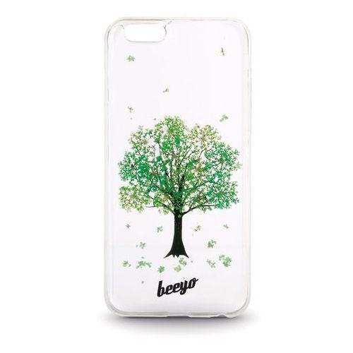 Beeyo Nakładka Beeyo Blossom do iPhone 5/5s wiosenna zieleń - GSM016871 Darmowy odbiór w 21 miastach!, kolor zielony