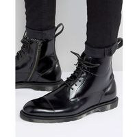 Dr martens winchester 7 eye lace & zip boots - black