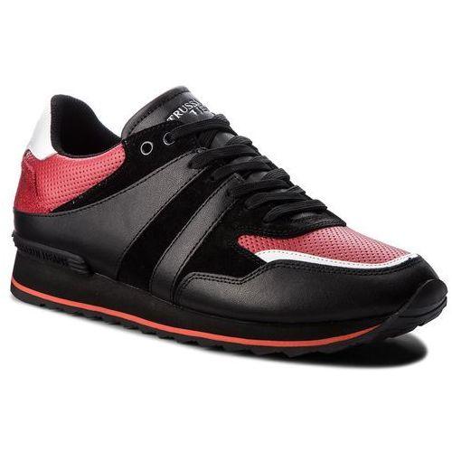 Sneakersy TRUSSARDI JEANS - 77A00106 K302, kolor czerwony