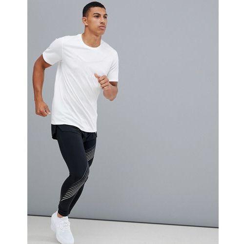Nike running just do it logo t-shirt in white 928407-100 - white