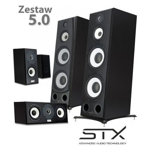 Zestaw kolumn kina domowego electrino - 5.0 v2 marki Stx