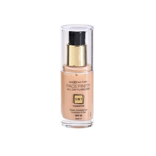 Max factor  facefinity make up 3 w 1 odcień 47 nude (all day flawless) 30 ml