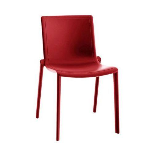 Krzesło Kat czerwony, kolor czerwony