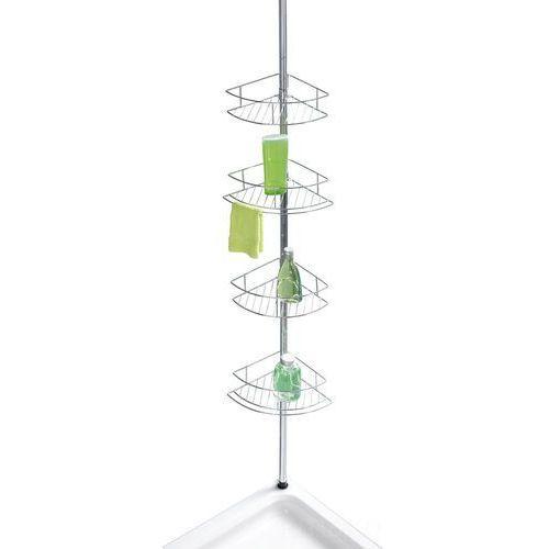 Wenko Teleskopowa, narożna półka łazienkowa dolcedo - aż 4 poziomy,