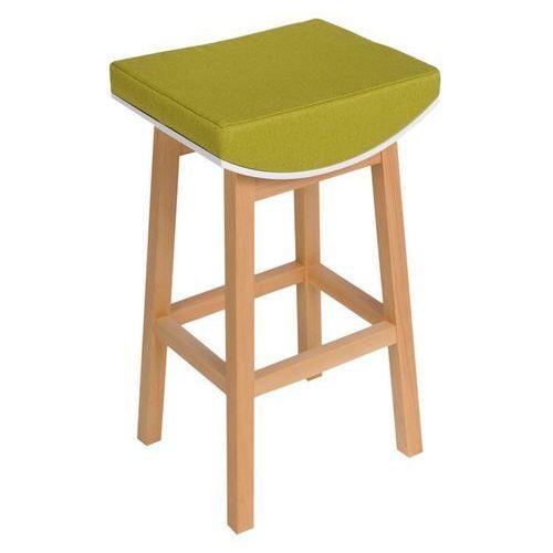 Stołek barowy Toni - zielony (5902385702539)