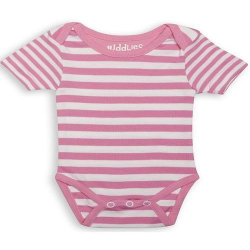 Body - sachet pink stripe 3-6m 6002655 marki Juddlies