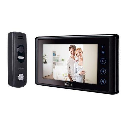 """Eura_tech Wideodomofon """"eura"""" vdp-33a5 """"eura-vision"""" kolor 7"""" dotykowy ekran gratis kamera cctv !!!, a51a133"""