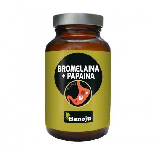 Bromelaina + Papaina 90 kapsułek