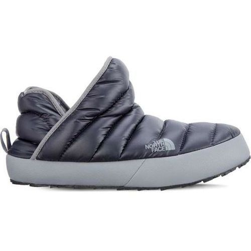 men's thermoball traction bootie 090 shiny blackened pearl griffin grey - męskie kapcie wsuwane - szary marki The north face