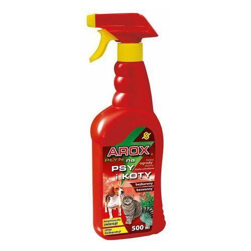 Płyn odstraszający psy i koty AROX Spray 500ml Agrecol, 5902341009580