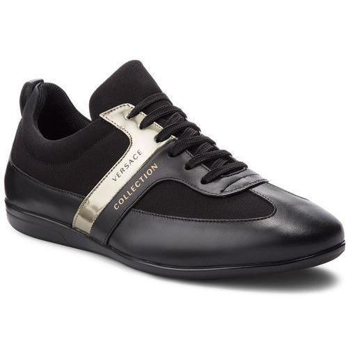 Sneakersy VERSACE COLLECTION - V900677 VM00359 V657 Black/Black/Black/Oro