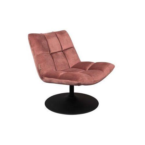 Dutchbone Fotel Bar różowy 3100082 (8718548043299)