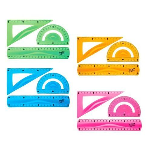 Zestaw kreślarski elastyczny easy -. marki Easy stationery