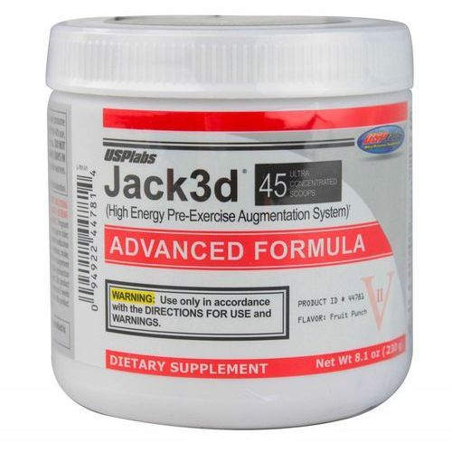 USP Jack 3D Advanced formula 248g