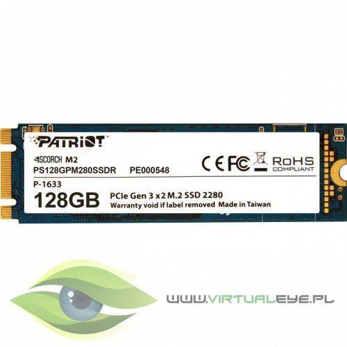 Patriot SSD Scorch 128GB M.2 2280 PCIE Read/Write (1700/415Mb/s) (0814914024058)