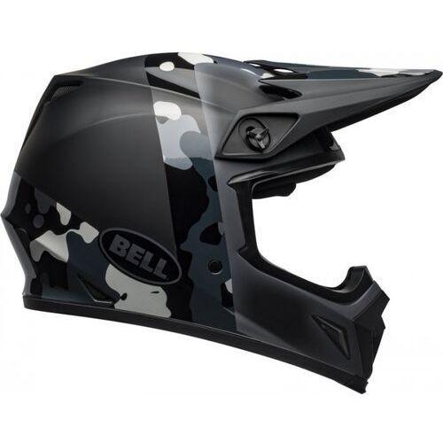 BELL KASK OFF-ROAD MX-9 PRESENCE BLACK TITAN CAMO