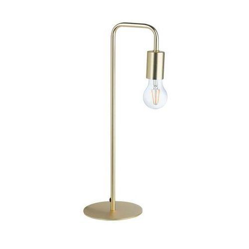 Inspire Lampa stołowa lana 60w e27 złota (3276000392835)