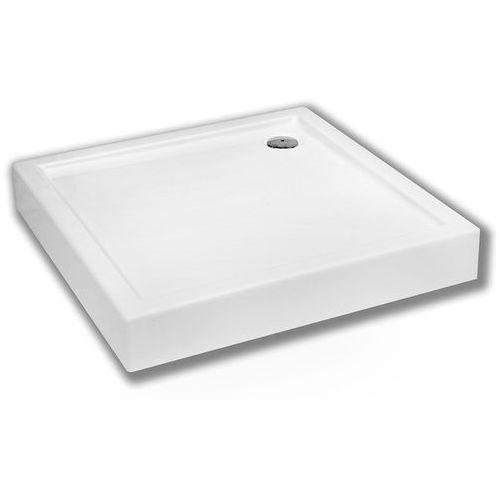 SCHEDPOL COMPETIA Brodzik kwadratowy 80cm, akrylowy 3.0160