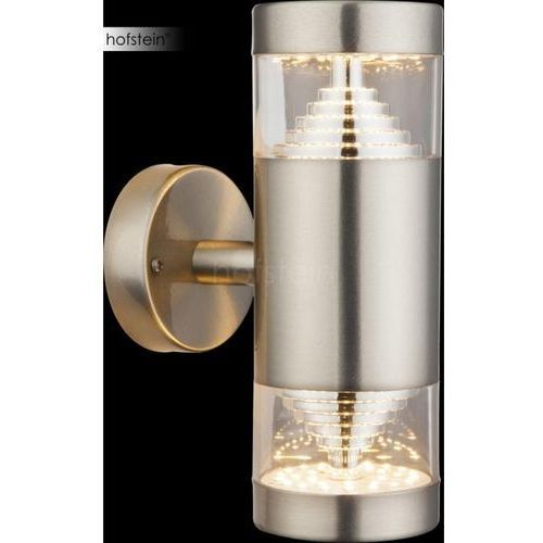 Globo Celio Zewnętrzny kinkiet LED Srebrny, 1-punktowy - Nowoczesny - Obszar zewnętrzny - Celio - Czas dostawy: od 2-3 tygodni, 34200W