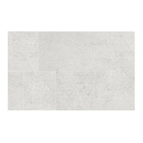 Cersanit Dekor commo 25 x 40 cm white/grey 1,2 m2 (5036581067380)