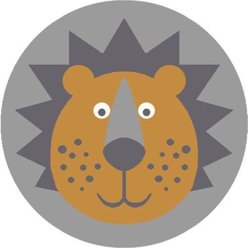 Agnella Dywan soft lion grey/popiel (koło) 100x100