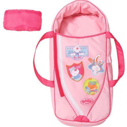 ® 2w1 nosidełko i śpiworek zapf (822203) marki Baby born