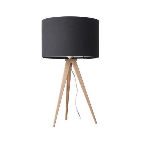 Zuiver Lampa stołowa TRIPOD czarna drewniana 5200008