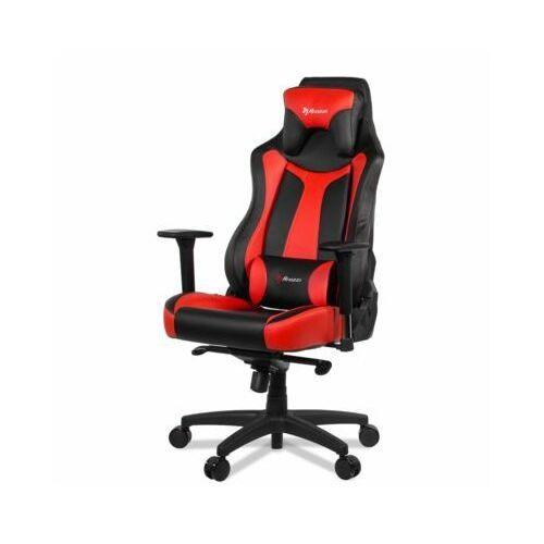 Fotel AROZZI Vernazza Czarno-czerwony (0713228271113)