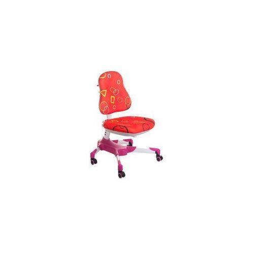 Fotel dla dzieci do biurka bx-001 czerwony marki Corpocomfort