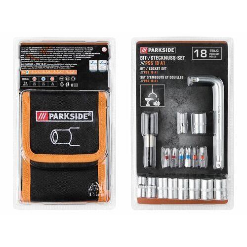 Parkside® zestawy wierteł, bitów i nasadek, 1 zest (4056232731614)