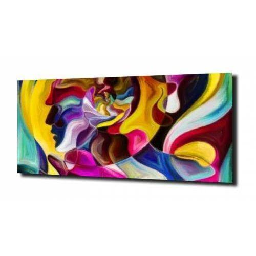 obraz na szkle Ekspresjonizm abstrakcja 15 100X80