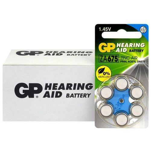 60 x baterie do aparatów słuchowych 675 / za675 / pr44 marki Gp