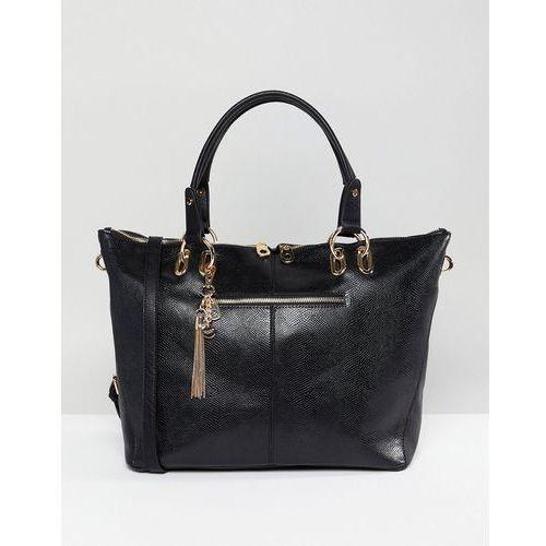Dune Daloris Slouch Shopper Bag - Black, kolor czarny