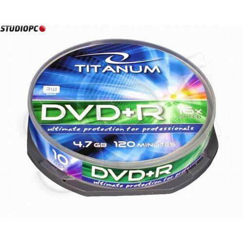 Esperanza DVD+R TITANUM 4,7 GB x16 - Cake Box 10 Darmowy odbiór w 19 miastach!