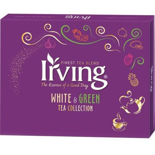 Kolekcja białych i zielonych herbat 30kop. marki Irving