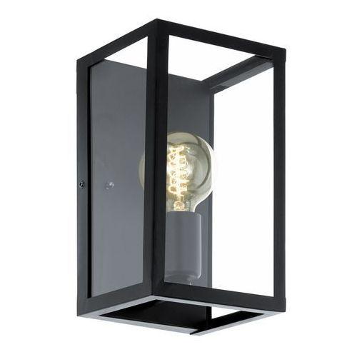 Eglo Kinkiet charterhouse 49394 lampa ścienna 1x60w e27 czarna (9002759493943)