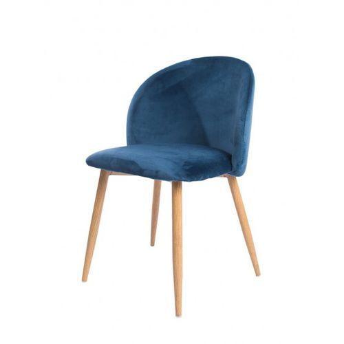 Signu Design Krzesło NONA niebieskie, kolor niebieski