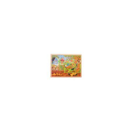 Puzzle, Nasz ogród - nad ziemią i pod ziemią Goki (4013594577434)