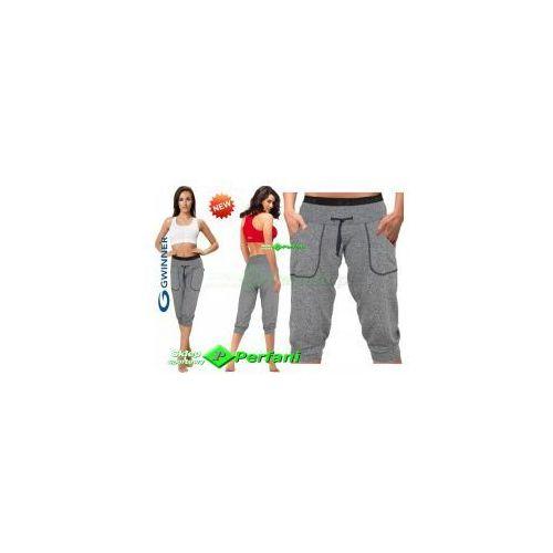 Nowość roma climaline sportowe luźne spodnie z kieszeniami melanż  | wysyłka 24h, marki Gwinner