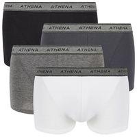Bokserki męskie BASIC COTON ATHENA (pakiet 4 par)