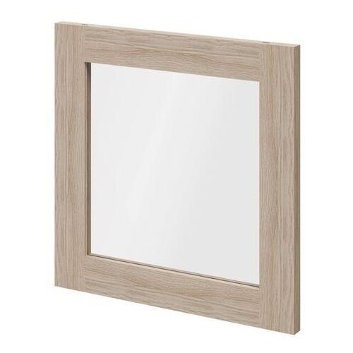 Goodhome Drzwi do korpusu 37,5 x 37,5 cm atomia dąb/szkło transparentne (5036581053598)