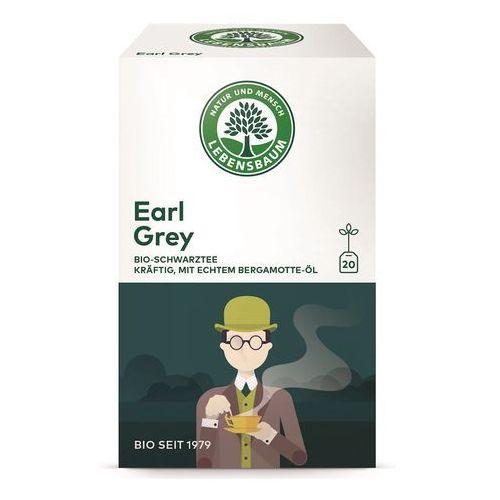 Herbata earl grey ekspresowa bio (20 x 2 g) - lebensbaum marki Lebensbaum (przyprawy, herbaty, kawy)