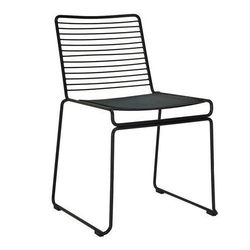 Krzesło ROD SOFT czarne MC-134 - King Home - Sprawdź kupon rabatowy w koszyku, kolor czarny